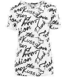 Bluzka top damska koszulka NAPISY ALL OVER