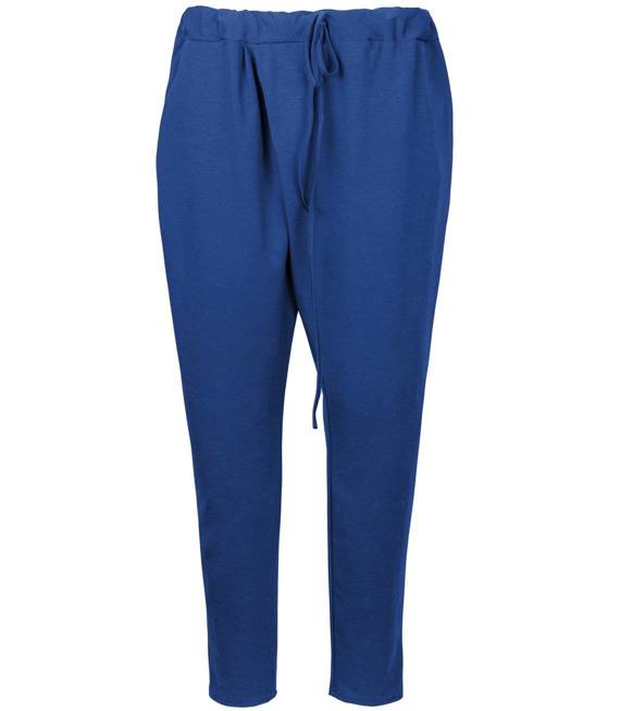 Cienkie Spodnie dresowe kopertowe wiązane