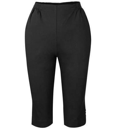 Cienkie elastyczne spodnie lato do kolan