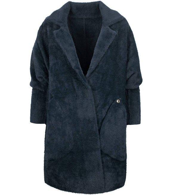 Ciepły płaszczyk płaszcz kurtka ALPAKA