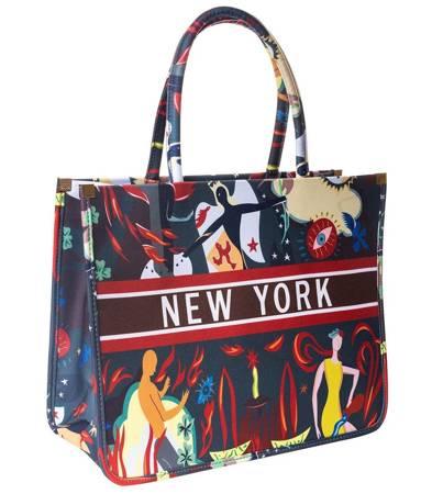 Duża elegancka Torba New York shopper