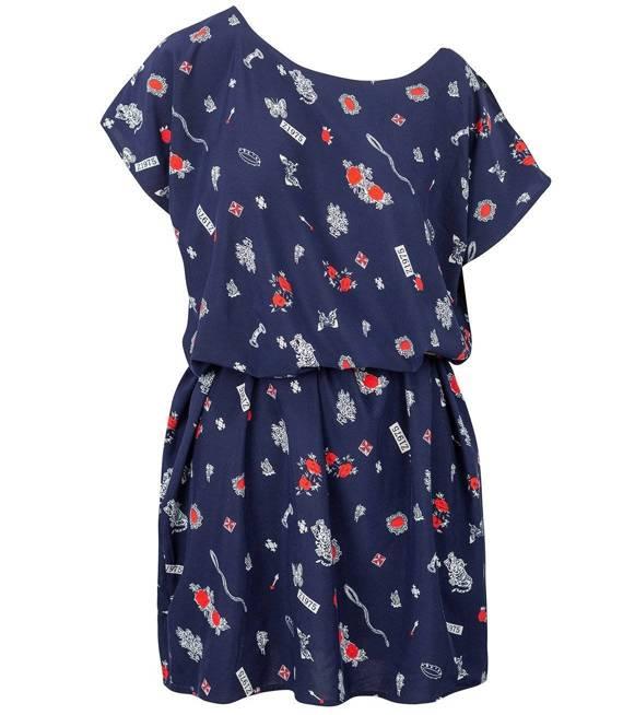LEKKA LETNIA ZWIEWNA tunika Sukienka FLOW