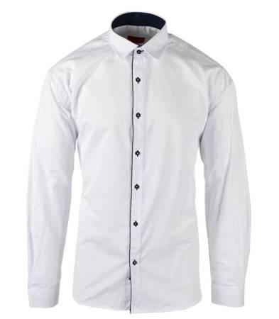Męska bawełna elegancka koszula DUŻA
