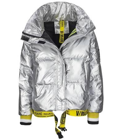 OVERSIZE ciepła pikowana kurtka Streetwear