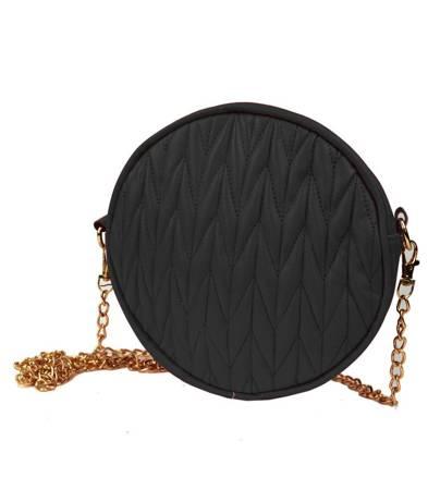 Okrągła torebka CHANELKA listonoszka