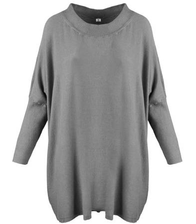 Super luźny sweter pullover OVERSIZE